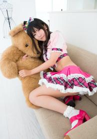 Uzuki Shimamura (from IDOLM@STER Cinderella Girls) Cosplay!