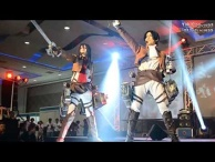 Attack on Titan Cosplay Guren no Yumiya Live YukiGodbless JiakiDarkness at Philippine on BOA