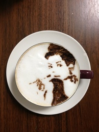 latte art~a woman~