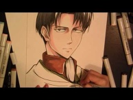 Drawing Levi - Attack on Titan