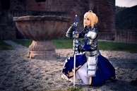 Saber (Fate/Zero) Cosplay by Calssara