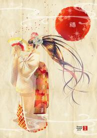 【Happy Holidays Art Show】Fuku-Jyu
