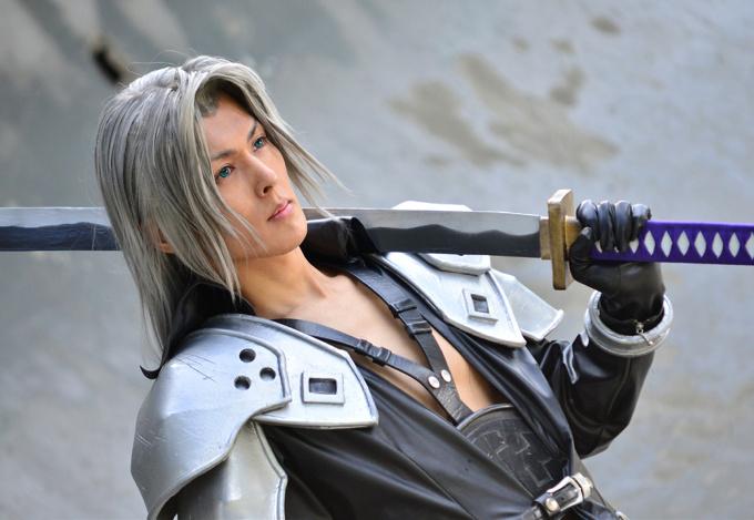 Final Fantasy Sephiroth Cosplay Sephiroth - CRISIS COR...