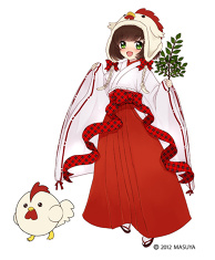 [Work Illustration] Pique 8 Suzu Amamiya