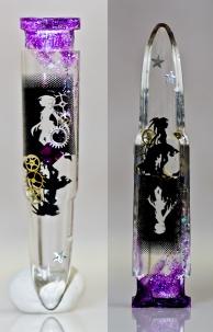 【PUELLA MAGI MADOKA MAGICA】 Madoka & Homura motif accessories