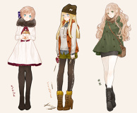 More Winter Girls