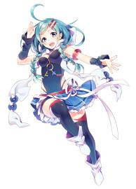 Energetic Girl