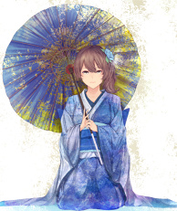 Kaga is a Girl with Japanese Style