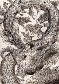 Dragon and Girl No. 2