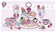 Vintage Macaroon Party