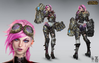 Vi Official Concept Art