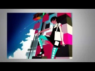 "[Square 07] Illustration Making-of PV ""Runway"" Ver. Akiakane [CV: Park Ro Mi] - Produced by Akiakane"