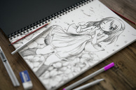 "Sketch my little sister ""Asakura Sakura"""