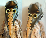 Steampunk Doll Armor - Plague Doctor Mask