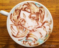 Latte Art [Belldandy] Oh My Goddess!