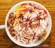 Latte Art [Makoto Shishio] Rurouni Kenshin