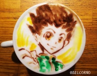 Latte Art [Gon Freecss] Hunter x Hunter