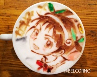 Latte Art [Hachikuji Mayoi] Monogatari Series