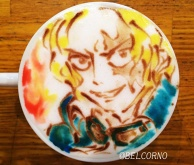 Latte Art [Sabo] One Piece