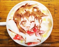 Latte Art [Misao Kusakabe] Lucky Star