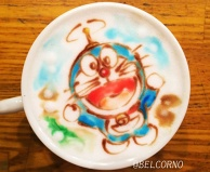 Latte Art [Doraemon]
