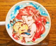 Latte Art [Ariel] The Little Mermaid