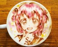 Latte Art [Akari Akaza] YuruYuri