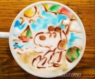 Latte Art [Snoopy]