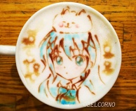 Latte Art [Chino & Tippy] Is the Order a Rabbit?
