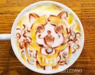 Latte Art [Jibanyan] Youkai Watch