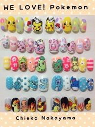 Pokémon Nails♪