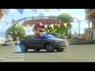 Mario Kart 8 and Mercedes-Benz Collaboration Karts Introduction Video