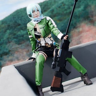 Sinon Sword art online 2 cosplay