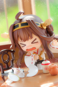 Kongou-chan and Black Tea