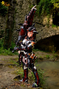 Rathalos Monstert Hunter Cosplay