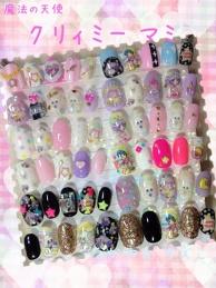 Tokyo Otaku Mode Collection - Creamy Mami Nails