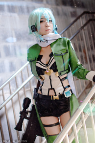 Sinon  /Sword art online II cosplay