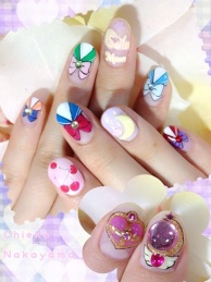 Sailor Moon Nails