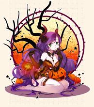 Nozomi Halloween ver.