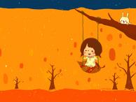 Swinging between autumn and winter