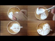 "Today's Leisure Time Cappuccino, ""Spirited Away"""