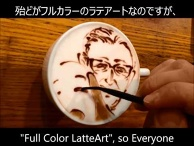 Charles M. Schulz & Snoopy - BELCORNO's Latte Art 9