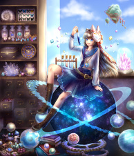 Stardust Shop Magic Goods Store Shopkeeper
