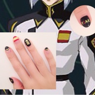 Gundam SEED Nail Art