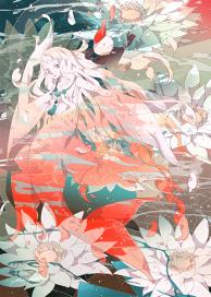 Scarlet mermaid