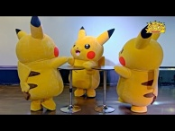 """Pikachu Outbreak"" August 2015 - Everyone Dancing with Pikachu!"
