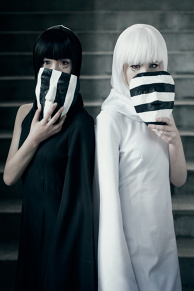 Tokyo Ghoul - Kurona and Nashiro