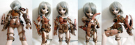 Gunner Armor for 1/3 Scale Dolls