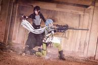 Sword Art Online - Kirito x Sinon