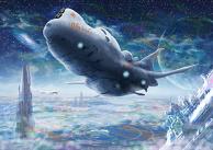 Aerial battleship